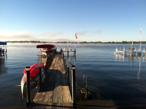 Lake morning